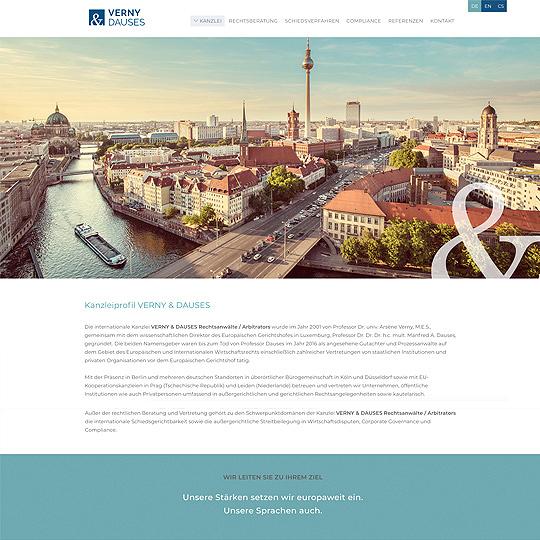 VERNY & DAUSES Rechtsanwälte |Arbitrators