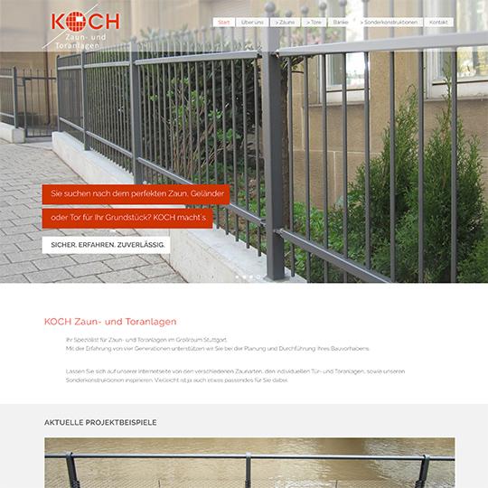 Zaunbau Koch Web