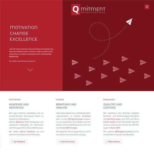 Qmitment Managementberatung GmbH | Website