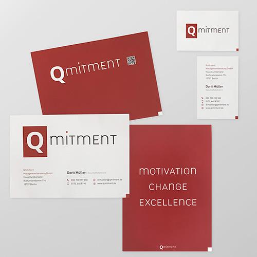 Qmitment Print